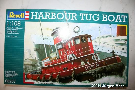 Harbour Tug Boat von Revell 1:108 Harbou18
