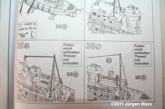 Harbour Tug Boat von Revell 1:108 Harbou21