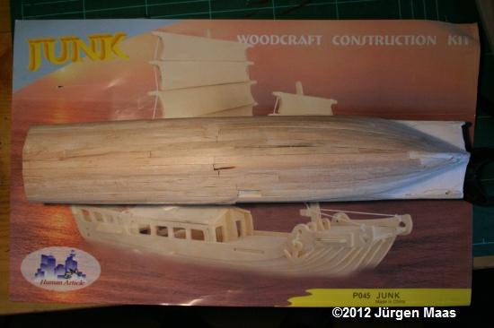 Segelschiff aus Holz ohne Maßstab Schiff22