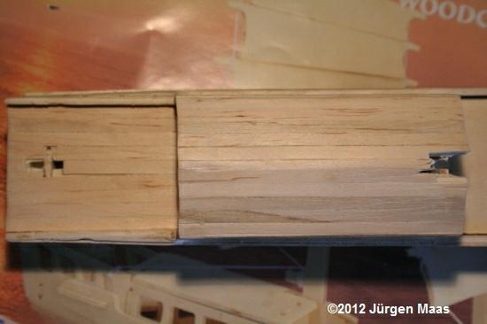 Segelschiff aus Holz ohne Maßstab Schiff23