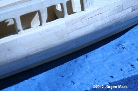 Segelschiff aus Holz ohne Maßstab Schiff26