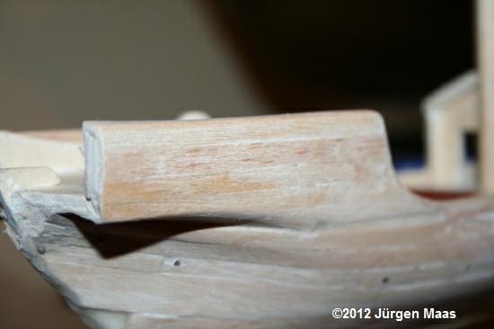 Segelschiff aus Holz ohne Maßstab Schiff27