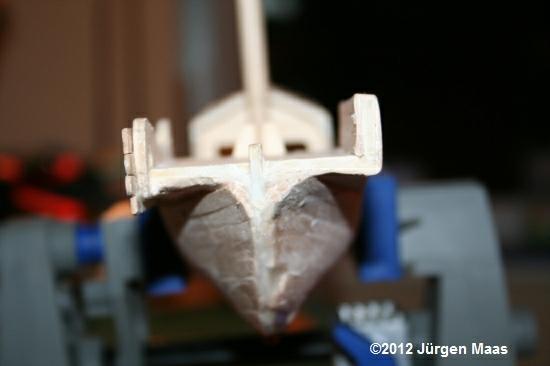 Segelschiff aus Holz ohne Maßstab Schiff28