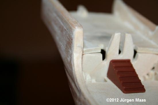Segelschiff aus Holz ohne Maßstab Schiff30