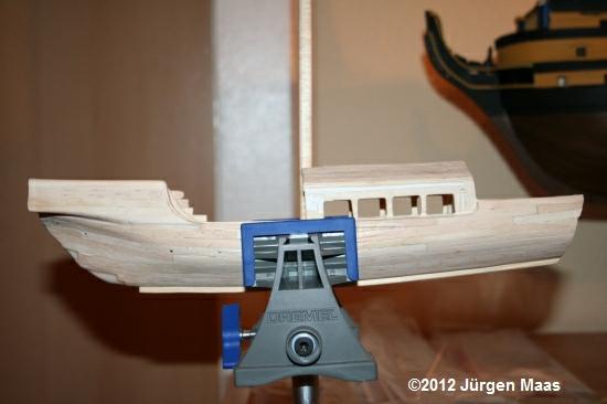 Segelschiff aus Holz ohne Maßstab Schiff31