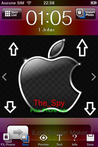 Créer un fond d'ecran personnaliser pour son iphone Img_0017