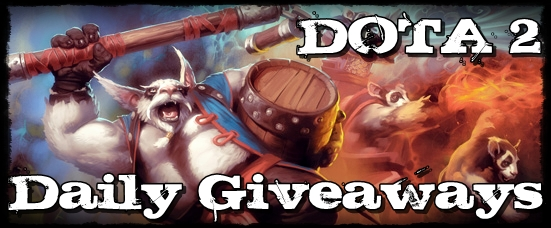 Dota 2 Daily Charity Giveaway + Live Stream Brew_s10