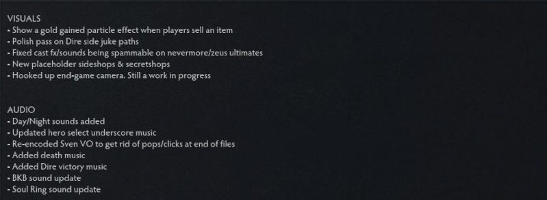 DOTA 2 Update 29/9 Ss410
