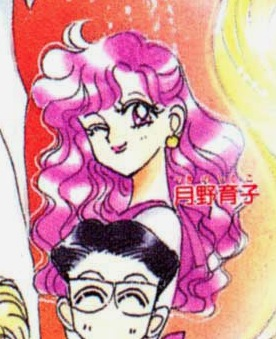 Theory: Why is Chibiusa's hair pink?  Screen40