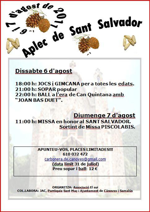 APLEC DE SANT SALVADOR Aplec10