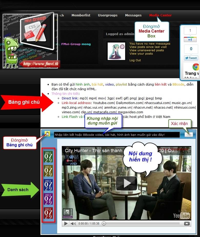 Media Center Box Media10