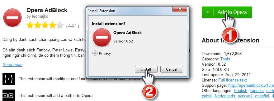 [HD03] Hướng dẫn tắt quảng cáo của Forumotion trong diễn đàn Opera10