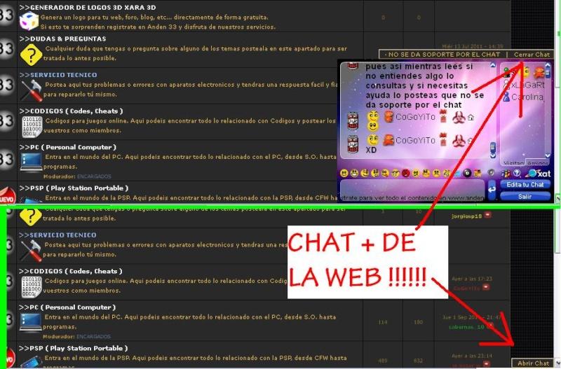 MEJORA EN LA WEB ACCESO AL CHAT DE ANDEN 33 DESDE LOS POST!!!! Dibujo11