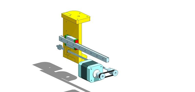 Le projet 4L1C3, micro-cnc format A4 Al110