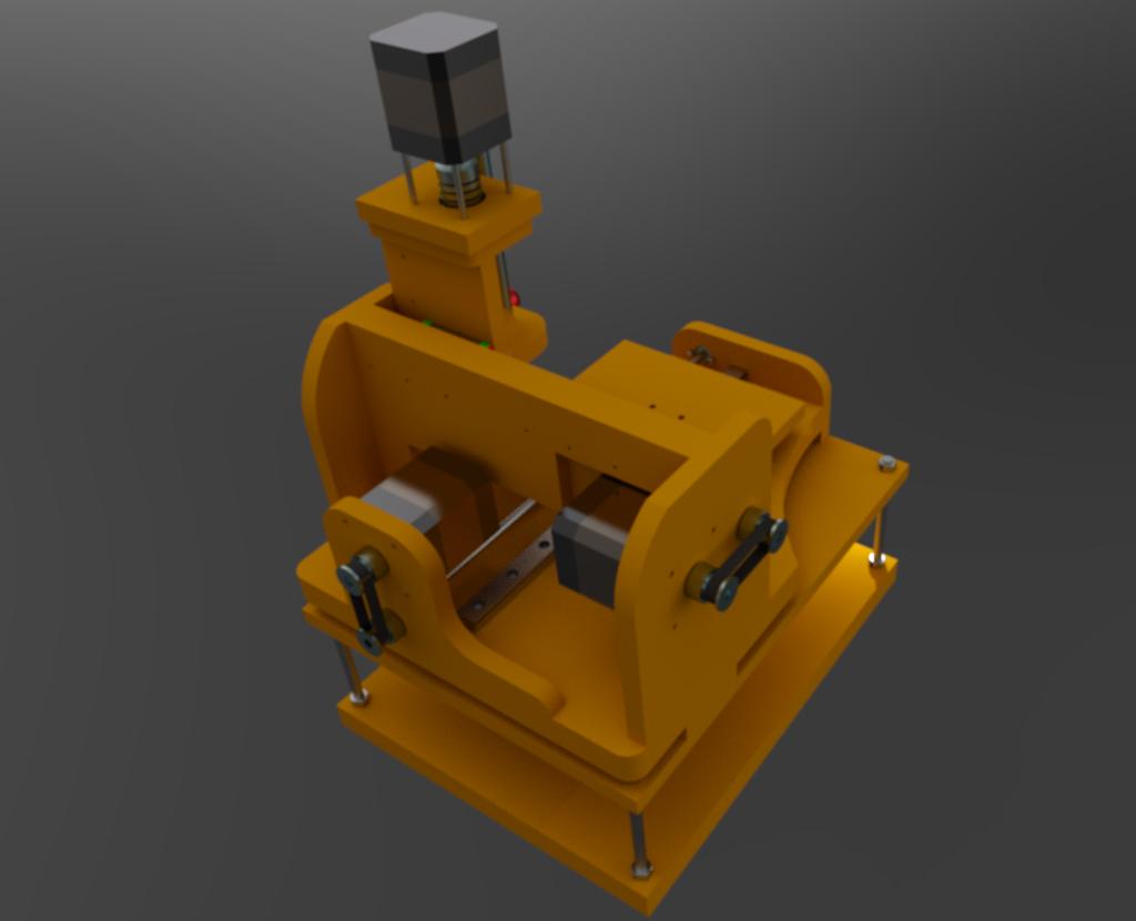 Le projet 4L1C3, micro-cnc format A4 Al1210