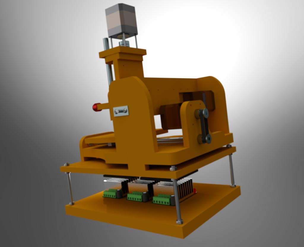 Le projet 4L1C3, micro-cnc format A4 Al1310