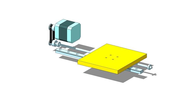 Le projet 4L1C3, micro-cnc format A4 Al210