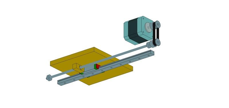 Le projet 4L1C3, micro-cnc format A4 Al310