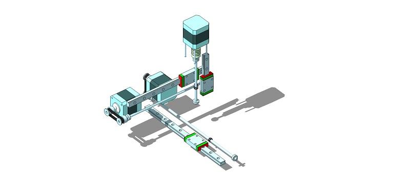 Le projet 4L1C3, micro-cnc format A4 Al610