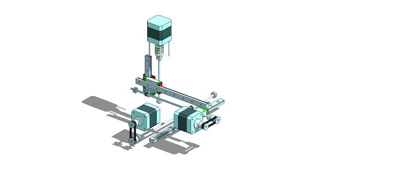 Le projet 4L1C3, micro-cnc format A4 Al710