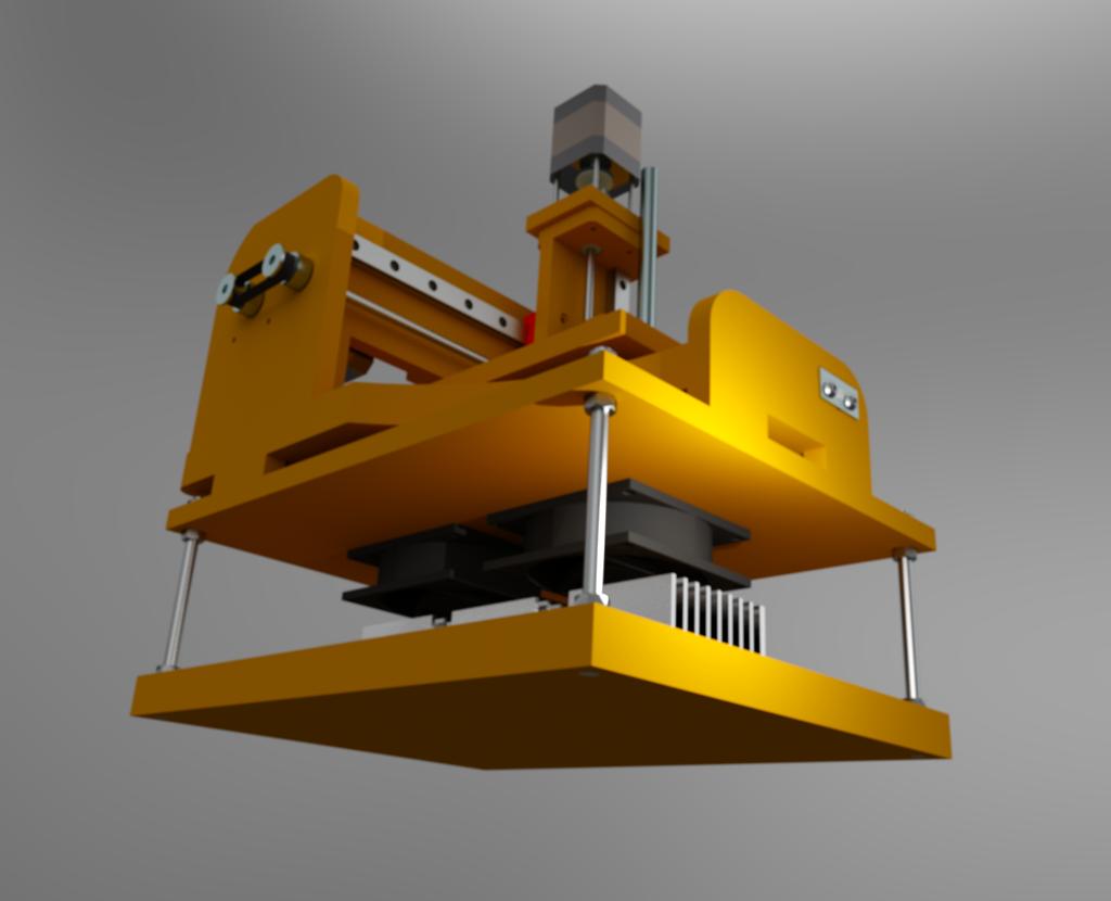 Le projet 4L1C3, micro-cnc format A4 Al910