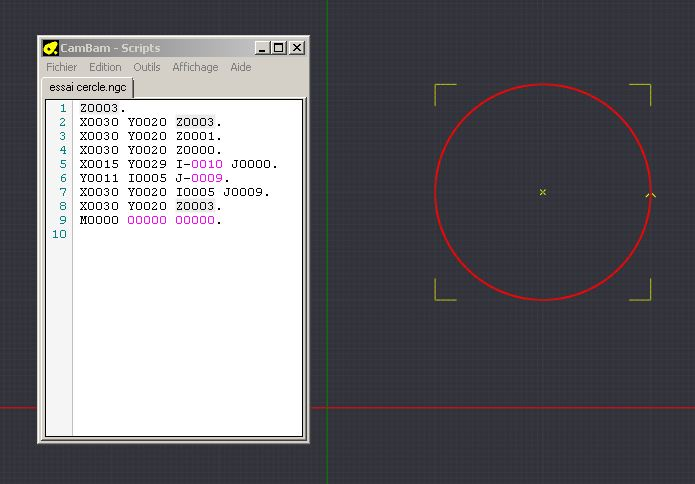 Le projet 4L1C3, micro-cnc format A4 - Page 5 Cercle10