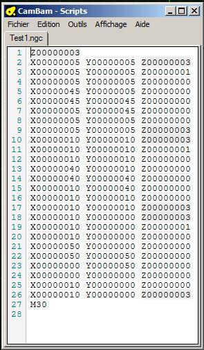 Le projet 4L1C3, micro-cnc format A4 Gcode310