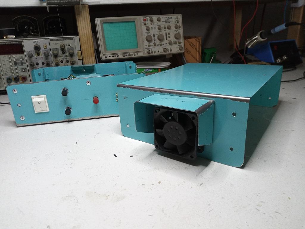 Motorisation numérique d'une table de fraiseuse S1010