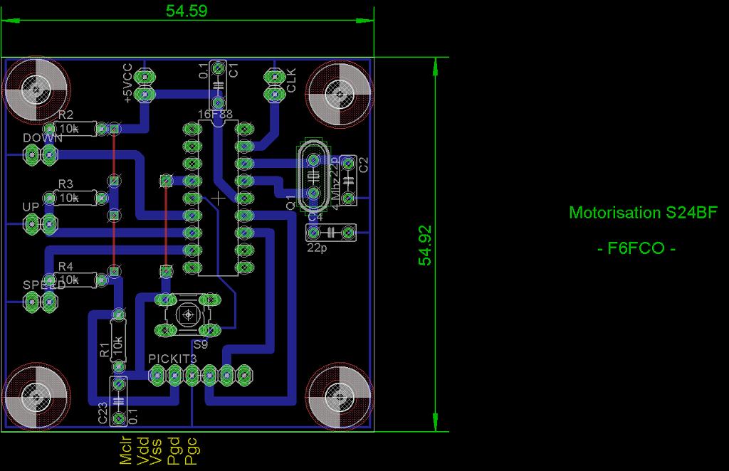 Motorisation numérique d'une table de fraiseuse S1410