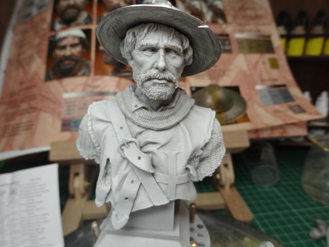 Fin de peinture du Sergeant Templier Andrea Dsc01710