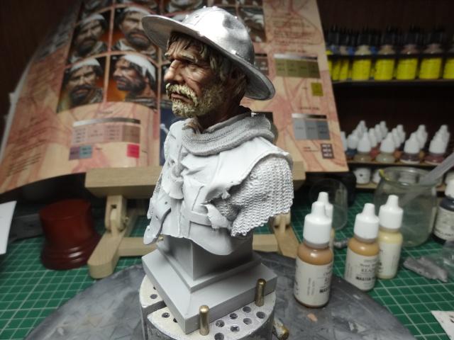 Fin de peinture du Sergeant Templier Andrea Dsc01719