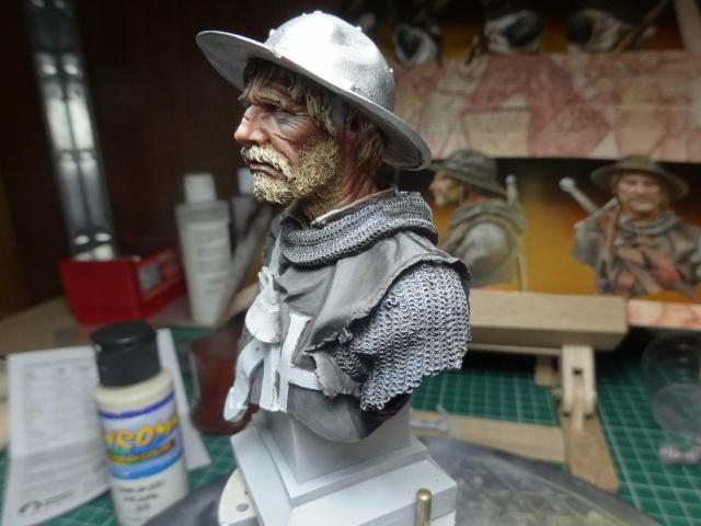 Fin de peinture du Sergeant Templier Andrea Dsc01727
