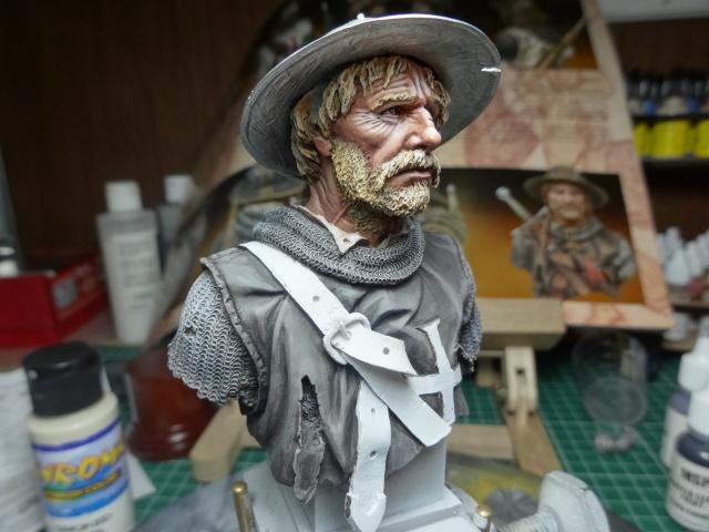 Fin de peinture du Sergeant Templier Andrea Dsc01728
