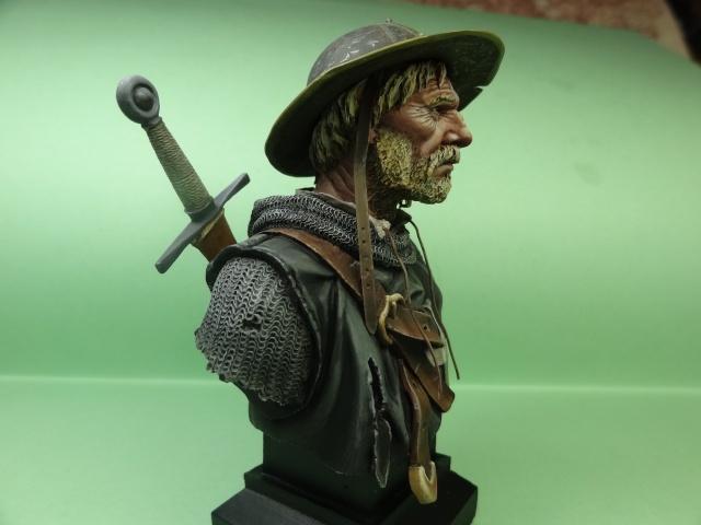 Fin de peinture du Sergeant Templier Andrea Dsc01813