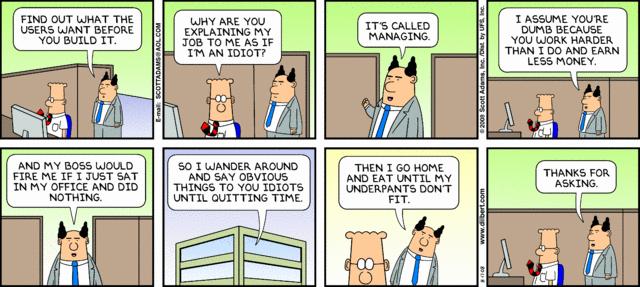 Funny Dilbert Comics. Dilber10