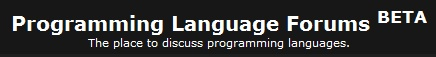 Programming Language Community Forums Update 8/15/11 Plcf_t10