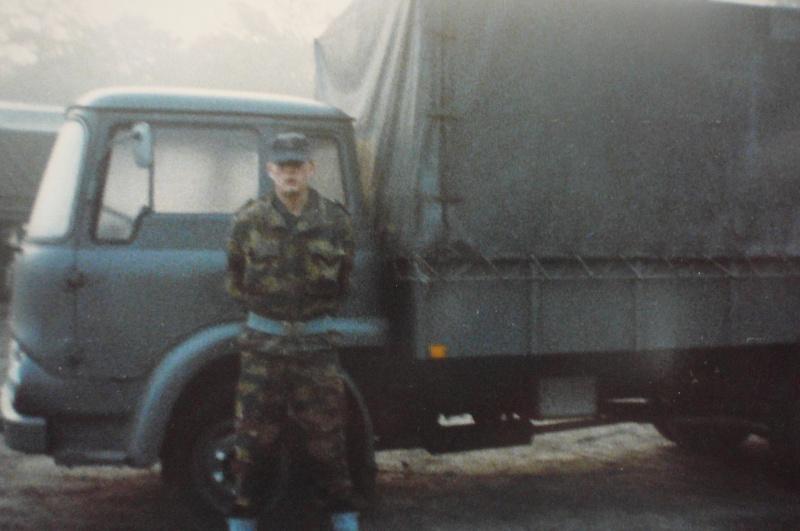 Service militaire 1986 Patinet M, Zeebruges fusilier marin P1070419