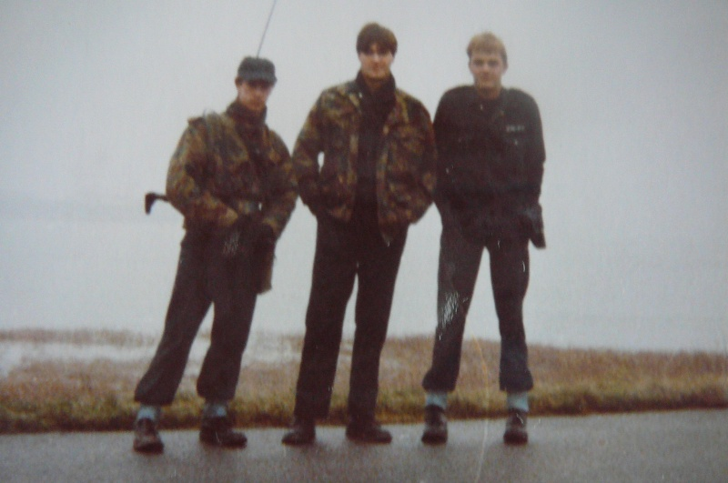 Service militaire 1986 Patinet M, Zeebruges fusilier marin P1070420