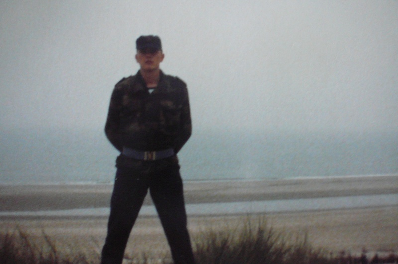 Service militaire 1986 Patinet M, Zeebruges fusilier marin P1070422
