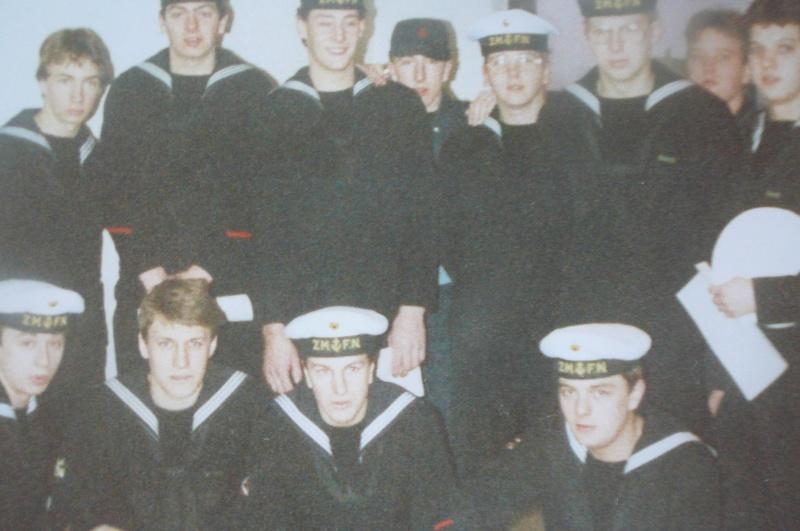 Service militaire 1986 Patinet M, Zeebruges fusilier marin P1070423