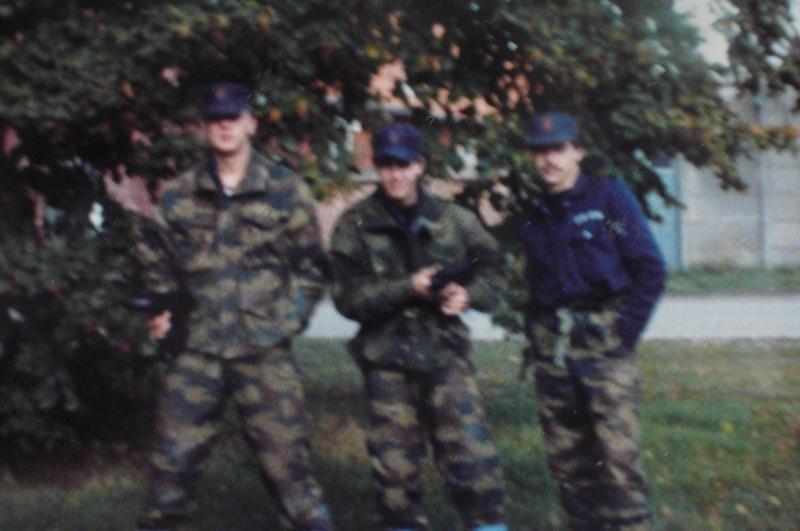 Service militaire 1986 Patinet M, Zeebruges fusilier marin P1070424