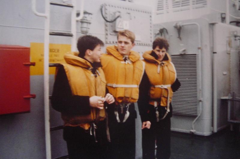 Service militaire 1986 Patinet M, Zeebruges fusilier marin P1070425