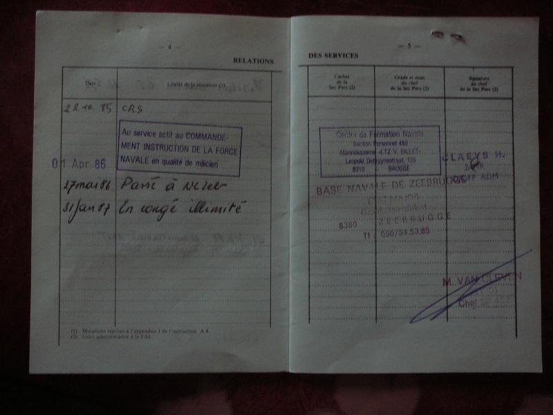 le Livret Militaire P1080214