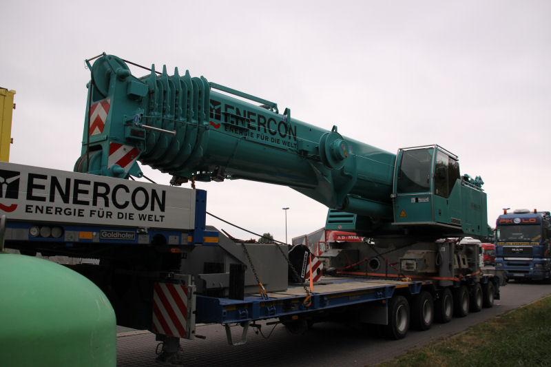 Les grues de ENERCON (Allemagne) 09guei12