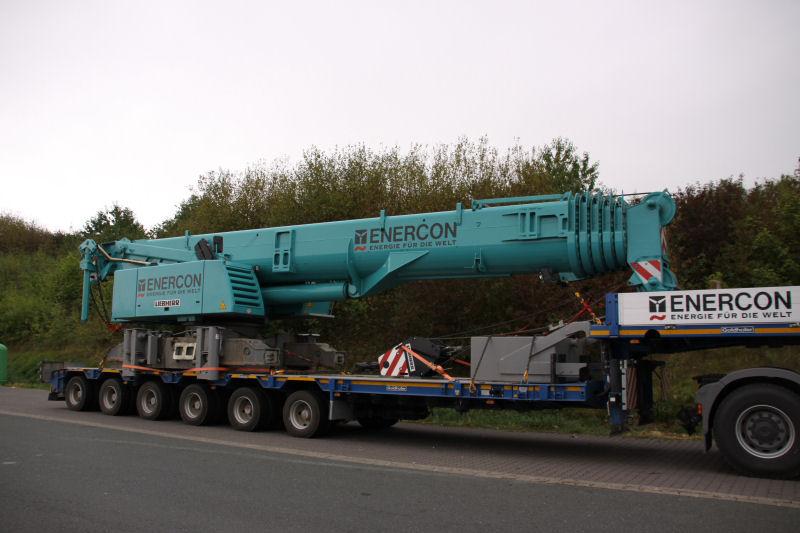 Les grues de ENERCON (Allemagne) 09guei13