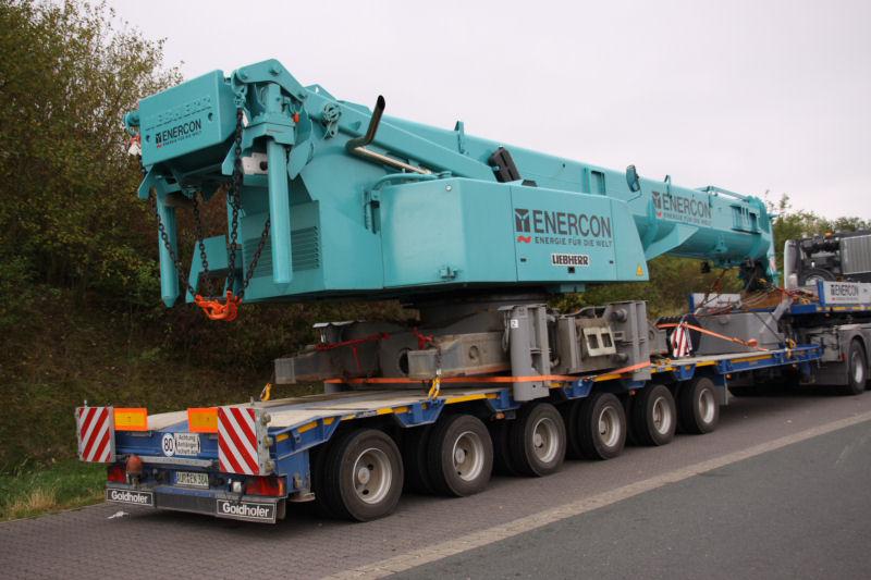 Les grues de ENERCON (Allemagne) 09guei14