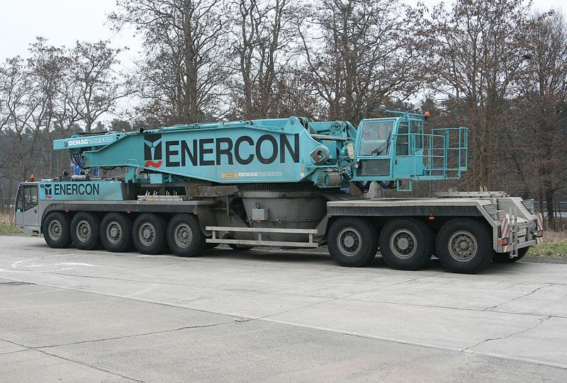 Les grues de ENERCON (Allemagne) 15954210