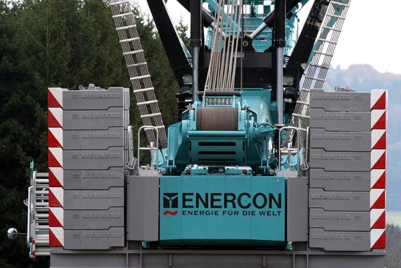 Les grues de ENERCON (Allemagne) 182-kl10