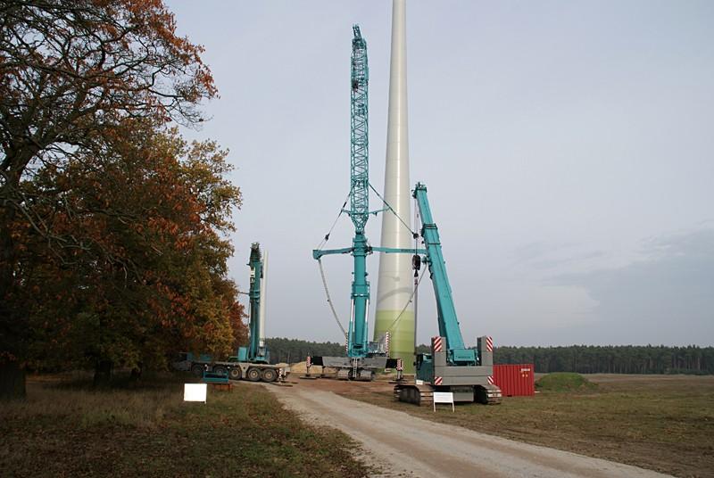 Les grues de ENERCON (Allemagne) Dsc01312