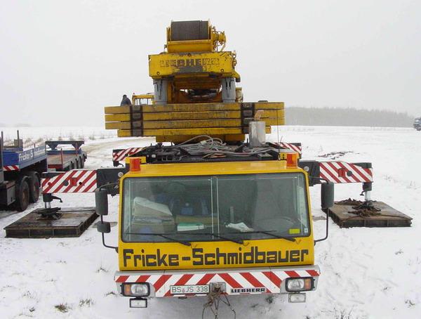 Les grues de SCHMIDBAUER (Allemagne) Fricke15